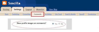 cara menampilkan foto profile disamping comments