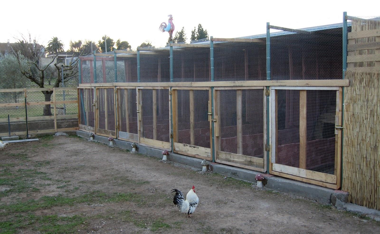 Villarochel el rincon magico gallineros reciclados paso a - Gallineros de obra ...