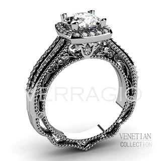 10 Engagement Rings 10 Weeks 10 Lucky Verragio Fans Verragio