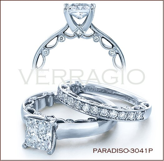 Emerald Cut Diamond Engagement Rings Universally Popular Verragio