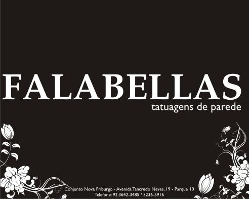 Falabellas - Tatuagens de Parede