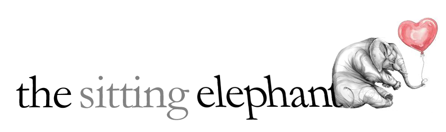 the sitting elephant