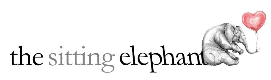 the sitting elephant