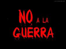 No a ninguna guerra