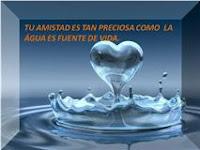 Como el agua de la fuente de la Vida