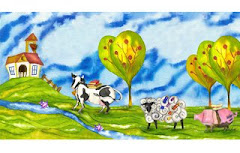 Otra ilustración de una vaca tomada del blog de Macarena Ortega
