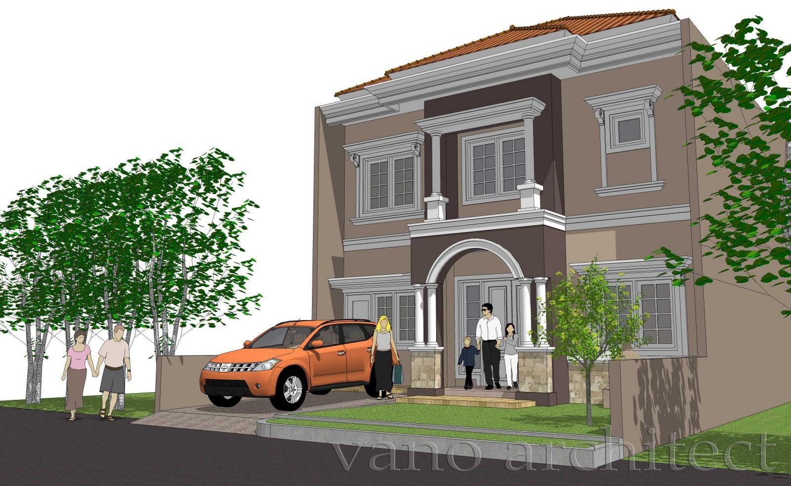 model desain rumah eropa gaya klasik kamar minimalis