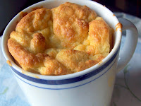 Cheese Soufflé in Coffee Mugs