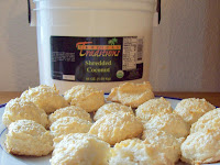 Coconut Macaroons & review of Tropical Traditions