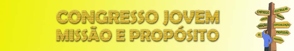 CONGRESSO JUVENTUDE COM PROPÓSITO
