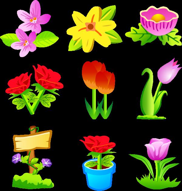 Free Vektor Flower bunga