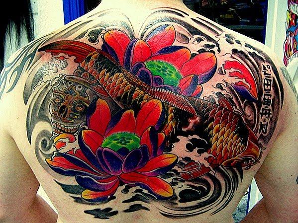 New Styles Popular Koi Fish Tattoos