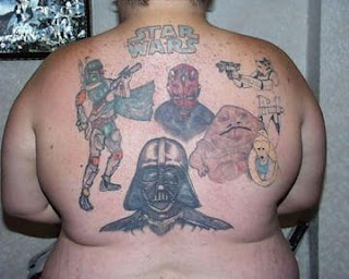 Geek tattoos Designs