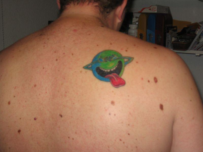 Body painting tattoo geek tattoos designs for Nerd tattoo designs