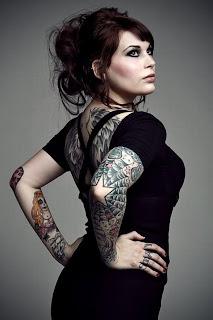 Hot Model Tattoo Designs0