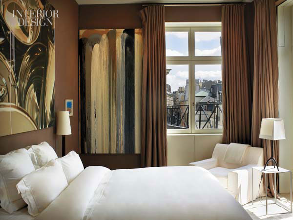 A Paris Apartment Bedroom From Interior Design Magazine. This Room Caught  My Attention Immediately. Sharp And Sophisticated, Yet Restful And Elegant.