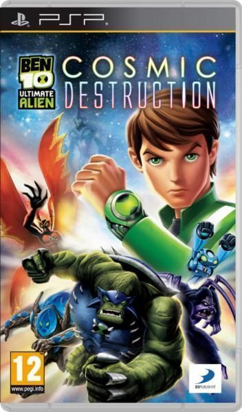 Ben 10 Ultimate Alien Cosmic Destruction Free Download For PSP