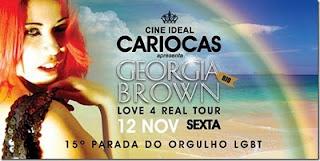 Georgia Brown - Love 4 Real Tour @ Cine Ideal RJ