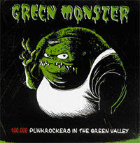 Green Monster - 100.000 Punkrockers In The Green Valley [2003]