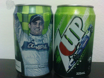 BMW William F1 7-up Can (is this Montoya?) Hope u still remember Fido-Dido :