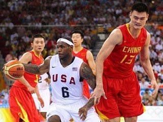 US beats China Beijing Olympics sports update