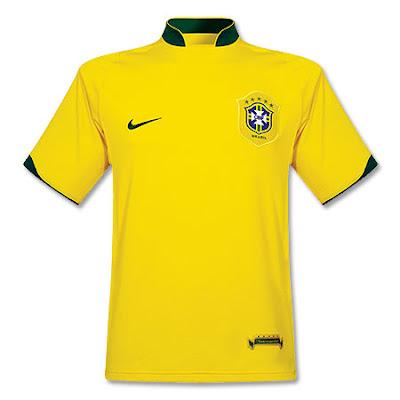 Brazilian Nike Jersey 2008 Beijing Olympic