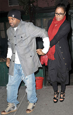 Jermaine Dupri and Janet Jackson was in the Waverly Inn