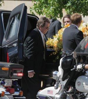 Farrah Fawcett Funeral Photos