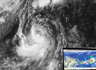 Typhoon Juan Megi