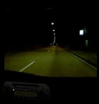 Night-drive to Polperro (Turtle Diary)