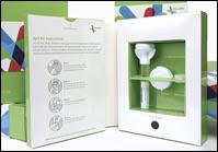 Le Saliva kit proposé par la société 23andme.