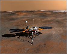 La sonde Phoenix Mars Lander. Document JPL.