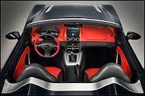 L'habitacle du roadster Opel GT.