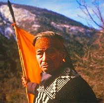 Un Mapuche du Chili.