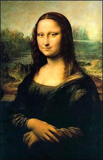 La Joconde, Mona Lisa, exposée au musée du Louvre. Un assistant de Léonard de Vinci en fit une copie.