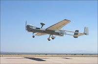 Le drone MQ-5B.