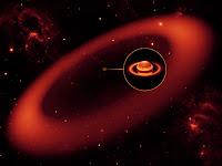 Dessin d'artiste NASA/JPL/Caltech/Keck.
