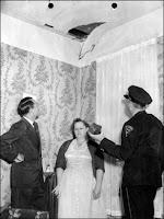 En 1954, Ann E. Hodges raconta aux policiers comment une météorite traversa son toit et la blessa au flanc.