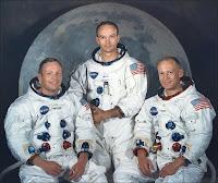 Les astronautes d'Apollo 11.