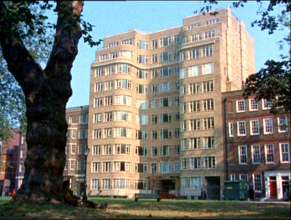 Where Is Poirot S Apartment Building