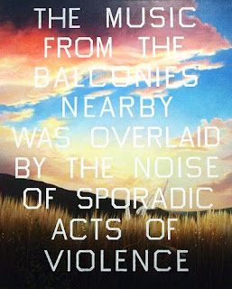 Ed Ruscha 'The Music From The Balconies', 1984