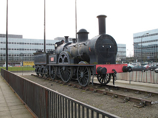 1009 Wolverton locomotive replica