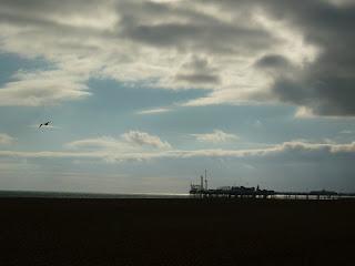 Brighton Pier, dusk by MJA Smith