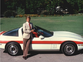 Face and his 1984 Chevrolet Corvette
