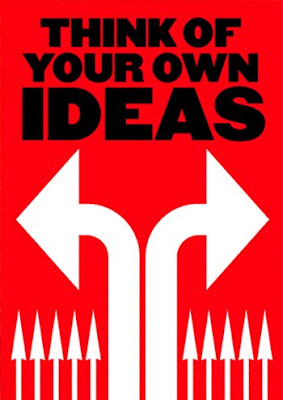 anthony burrill think of your own ideas
