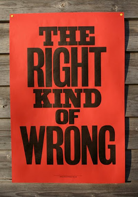 anthony burrill the right kind of wrong