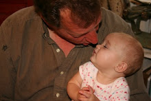 Jean's son, Chris, and her great grand-daughter, Bella