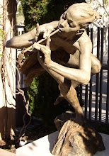 Sculptures in a small park in Laguna Beach, CA - 2008
