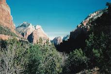 Zion canyon NP