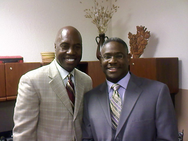 With my Long time brother in Christ Alvin Smith